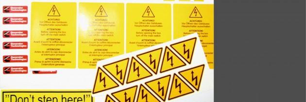 Etichete industriale